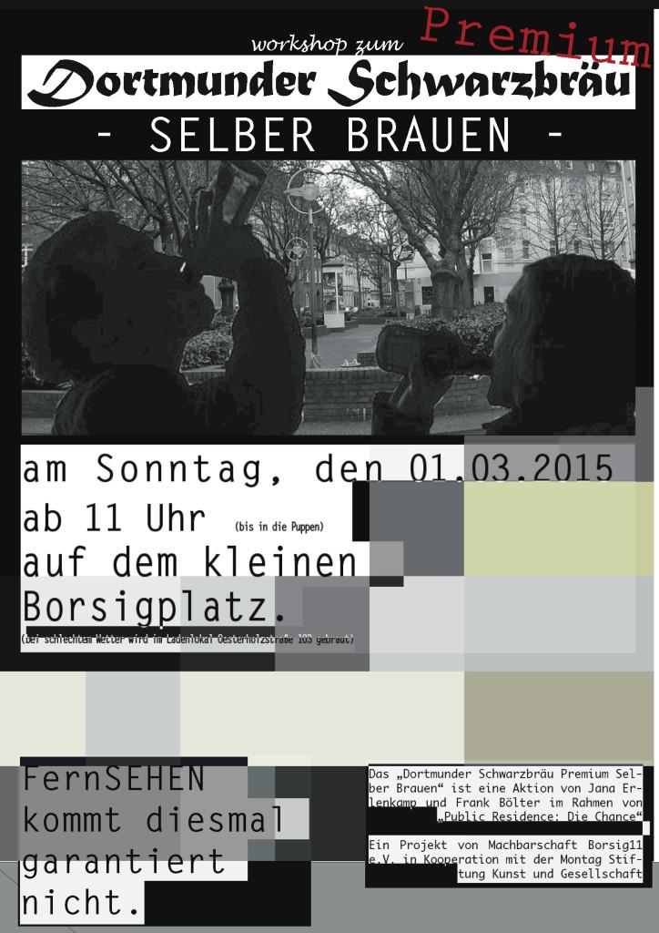 DortmunderSchwarzbräuPremiumPlakat